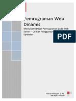 4 - Memahami Dasar Pemrograman Pada Web Server - Operator - Form