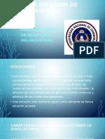 Soluciones Quimica