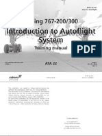 B767 200-300 BOOK 22 301 - Autoflight - Introduction