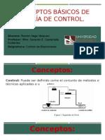 Conceptos Básicos de Teoría de Control
