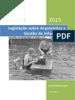 Legislação Sobre Arquivística e Gestão de Informação_V2.0_2015!06!22