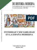 Revista Historia Moderna Univ Alicante Vida Cotidiana