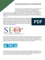 Preguntas Usuales De posicionamiento web Y Marketing On line