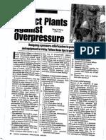 TA- Protect Plants Over Pressure Scenarios(2001)