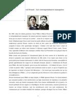 Oscar Wilde hhEt Marcel Proust
