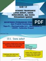Akuntansi Transaksi Dana Zakat, Dana Kebajikan Dan Pinjaman Qardh