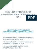 Metodologia para desarrollar objetos de aprendizaje