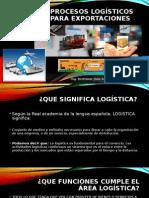 Procesos Logisticos de Exportaciones