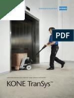 Brochure Kone Elevator Transys Apm