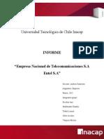Informe Empresa Entel