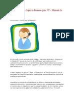 Curso Básico de Soporte Técnico Para PC – Manual de Apoyo