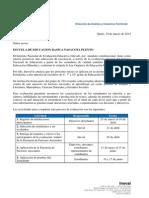 Indicaciones Registro SES Part 128