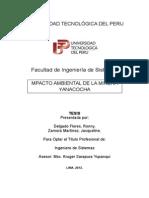 Proyectos Final II Minera Yanacocha