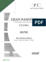 Matematika Sd Sd Mi 2013