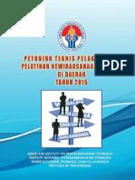 Buku Juknis Pelatihan Kewirausahaan Pemuda Di Daerah Tahun 2015
