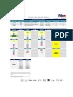 Horario MBAG LXXV - Ciclo 6 v(2) 05.05.2015- Secciones a y B