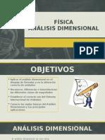 Fisica Nivelacion - Análisis Dimensional