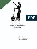 ALESSO, Marta. Consideraciones Sobre La Anagnoresis Aristotelica.