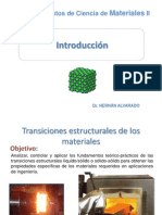 Transiciones estructurales de los materiales