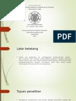 Presentasi Seminar Kemajuan Jilib 2