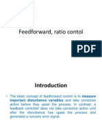 Process Control Chap 8 Feedforward, Ratio Contol