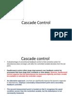 Process Control Chap 9 Cascade Control