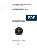 Kualitas Struktur Pengendalian Intern Dan Relevansinya Dalam Pekerjaan Audit
