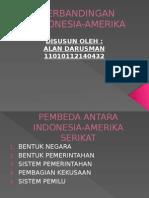 Perbandingan Indonesia Amerika
