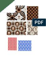 Contoh Desain Batik Bumi Panggung