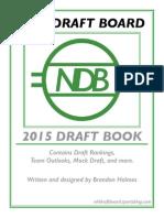 NHL Draft Board 2015 Draft Book