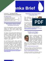 Sri Lanka Brief - Issue 02 Februray 2010