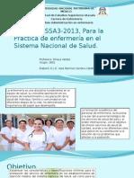 NOM-019-SSA3-2013