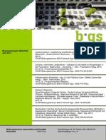 Neuerwerbungsliste der BGS-Bibliothek, Juni 2015
