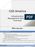 GSS America - Infrastructure Management Services Overview
