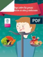 Decálogo Sobre Las Grasas en La Alimentación de Niños y Adolescentes