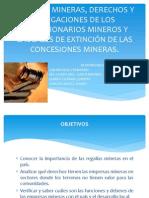 Regalías Mineras, Derechos y Obligaciones de Los (1)