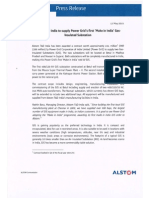 Alstom T&D India to supply Power Grid's first 'Make in India' Gas-Insulated Substation [Company Update]