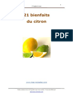 21 Bienfaits Du Citron