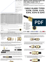 CMP Hazardous E Type Installation Fitting Instructions FI407 Issue 2 0911 2