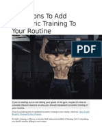 5 Reasons to Add Eccentric Training to Your Routine