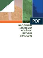 Nacionalna Strategija Odrzivog Razvoja Crne Gore
