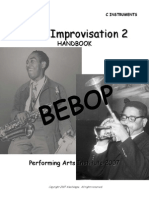 Jazz Improvisation 2 Bebop