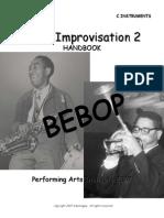 Jazz Improvisation 2 Bebop