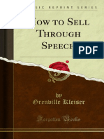 How to Sell Through Speech 1000002338
