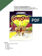 The Powers of Grayskull Bible 2.0