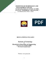 B.Tech (EEE) Syllabus for 2014-15 Admitted Batch.pdf