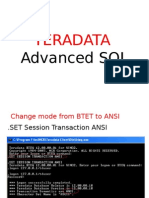Td Advanced SQL