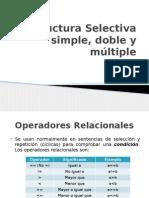 Fase 2 - Estructura Selectiva Múltiple.pptx