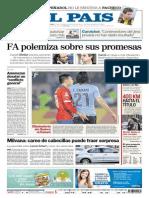Portada Diario Pais Uruguay
