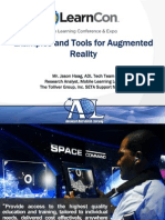 AR Examples and Tools - MLearnCon 2014